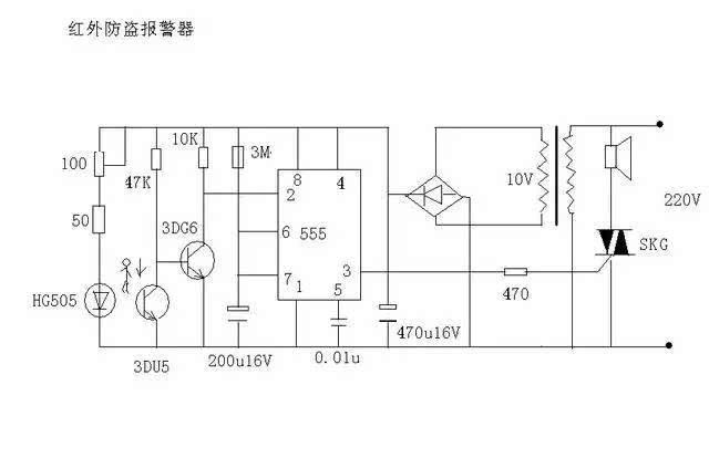 双电容单相电机接线图