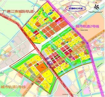 珠海城市轨道2号线是联系西部区域南北的轨道.图片