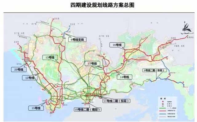 深圳地铁又开挂!11条地铁线路大曝光,公明人快看有没有修到你家图片
