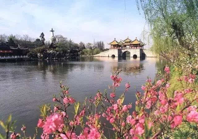扬州景点1日游 瘦西湖