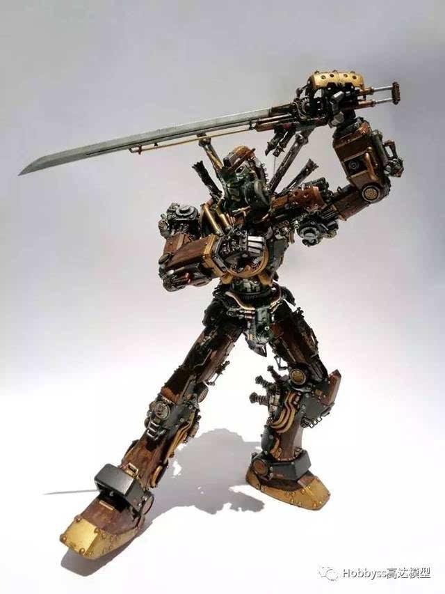 玩具战争分垹g,:f-yg�_【神作欣赏】高达战争机器,蒸汽朋克风格给你绝妙艺术