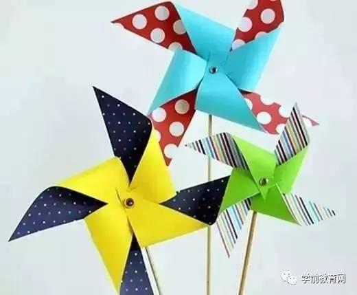 创意手工:diy手工制作风车,带着孩子一起做吧!(附教程
