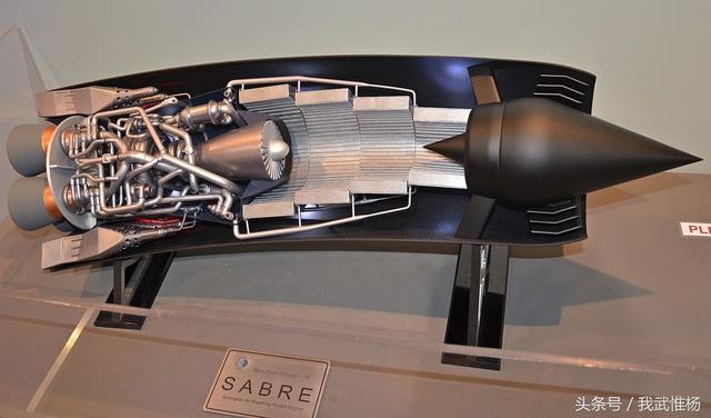 云霄塔航天飞机使用的动力是两台sabre   双模式发动机