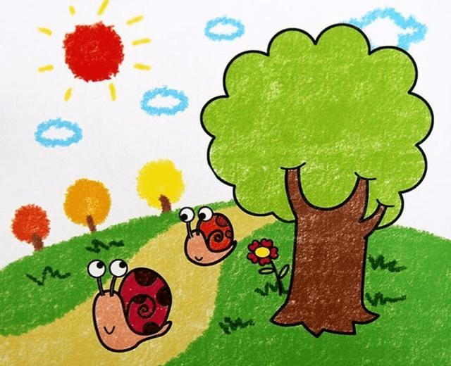 关注我,定期分享优质教育资源 幼儿园创意亲子手工(kidsdiy95) 关注我,定期分享优质教育资源 幼儿园创意亲子手工(kidsdiy95)  在假期,孩子在家做些什么呢? Yoyo准备了一些优秀的幼儿园蜡笔画作品 让孩子多看看这些作品 说不定也有动手的欲望了呢! 一起来看看吧!