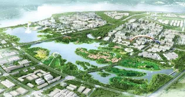 5月23日,南昌赣江新区的儒乐湖滨江公园获得了美国景观设计师协会图片