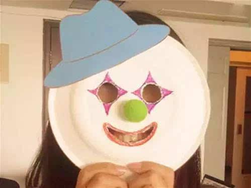 """儿童节""""小丑面具""""手工制作大全,简单易学图片"""