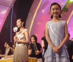 叶子,1995年出生的叶子也曾是一位小有名气的童星.图片