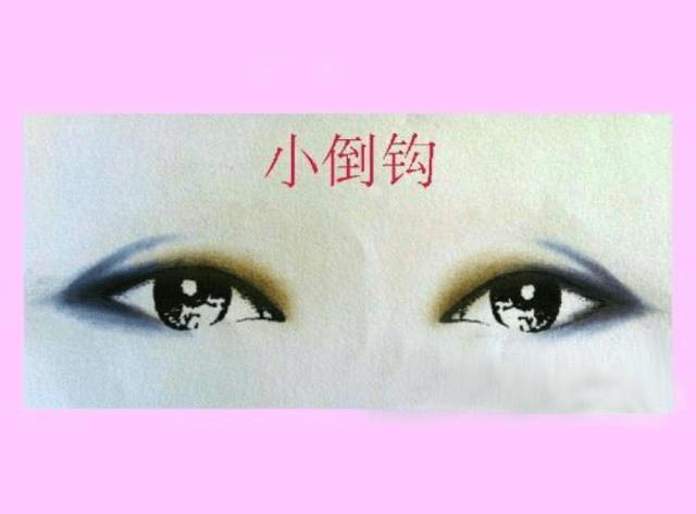 两段眼影的画法及着色原则:后段式眼影颜色较深,前段式眼影较浅图片