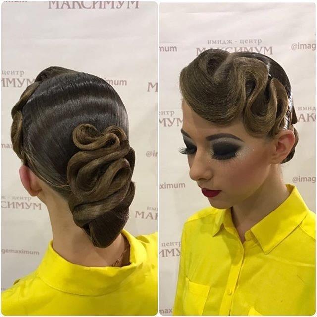 律动的艺术——国标舞中的发型设计图片
