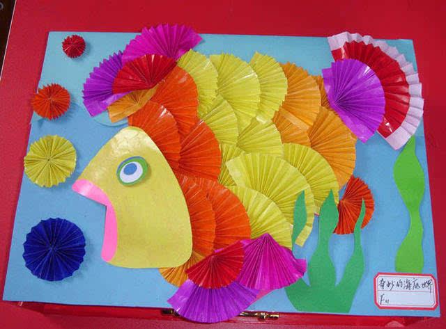 幼儿园老师手工作品 真的太美了