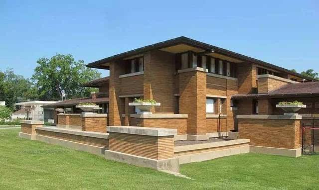 赖特草原风格别墅_org 芝加哥的罗比住宅,称得上是赖特草原风格的巅峰之作.
