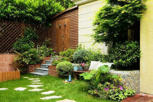 7套花园式别墅庭院设计小实景-娱乐频道-手机搜狐