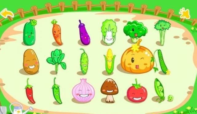 大班美术教案:可爱的蔬菜造型