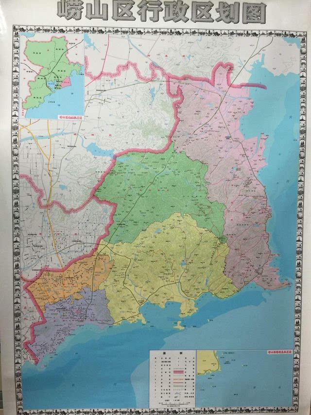 区划地�_为准确反映行政区划现状,充分发挥地名公共服务的社会功能,崂山区民政