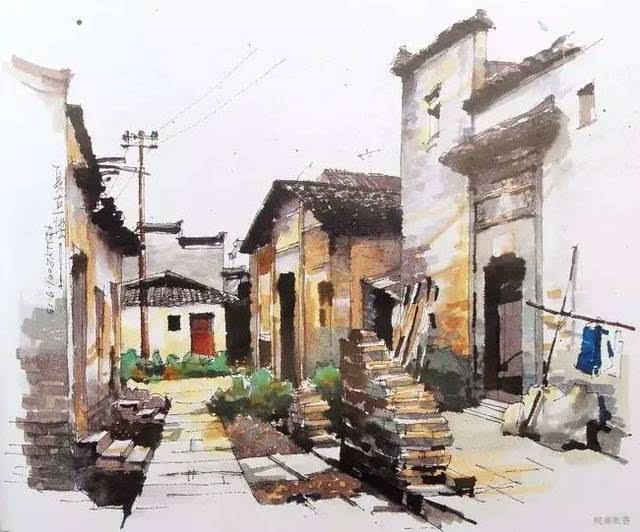 【手绘】值得收藏,中国美院夏克梁手绘精选!