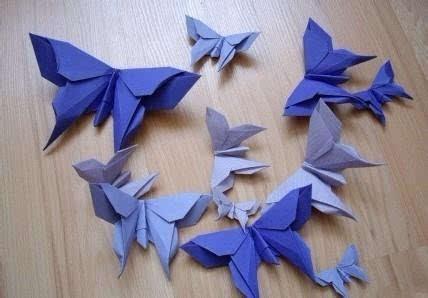 美呆了的蝴蝶折纸大全!值得收藏!
