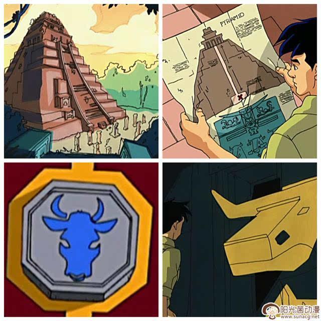 成龙历险记,圣主被封印后分化出十二生肖符咒,符咒第一任使用者是谁?图片