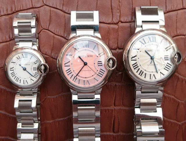 卡地亚手表推荐欣赏蓝气球男士手表女士手表欣赏图片