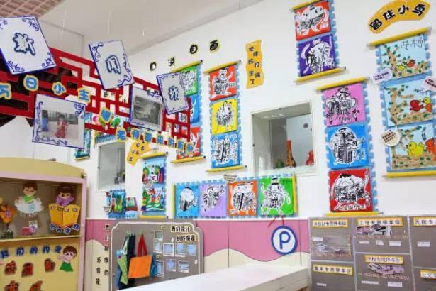 如果是空间比较小的幼儿园,我们可以将楼道空间有效利用,放置一些储物图片