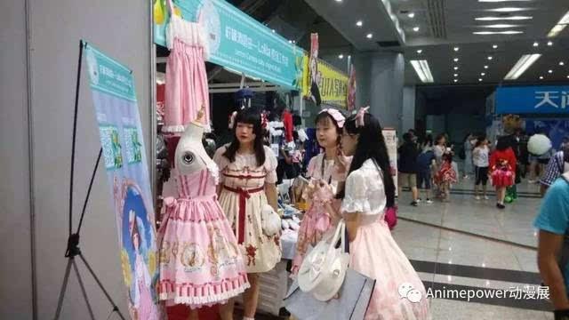除了以上内容,ap07还有很多现场体验的内容,比如说lolita洋装,精美图片