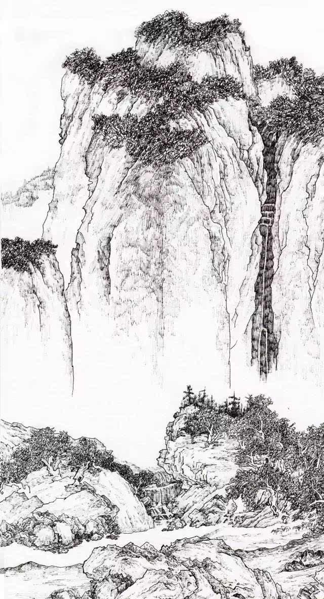 10 - 手绘风景 八哥(刘成刚)