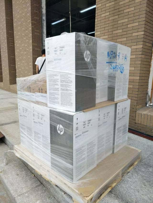 国内第一台三维3d打印机如约无限青岛高新区落户惠普知名现代商业建筑设计院图片