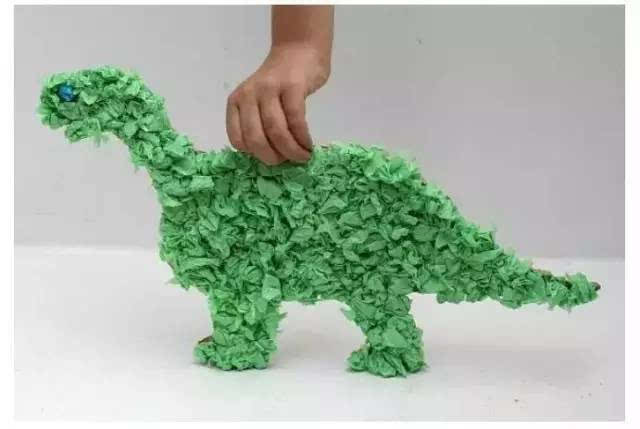 14款幼儿园皱纹纸手工制作!美到爆!