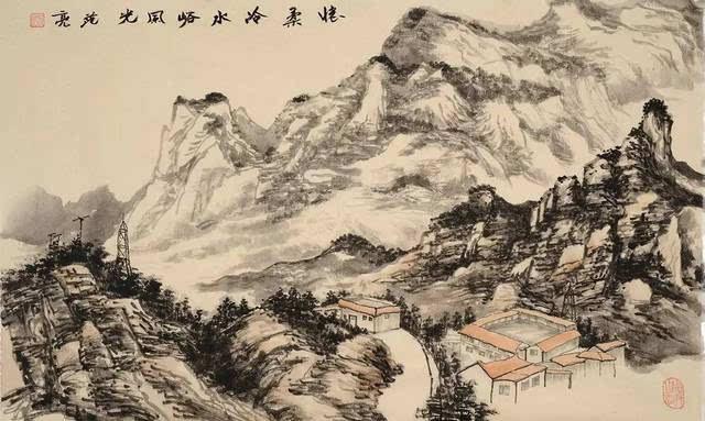 范亮|山水画作品展