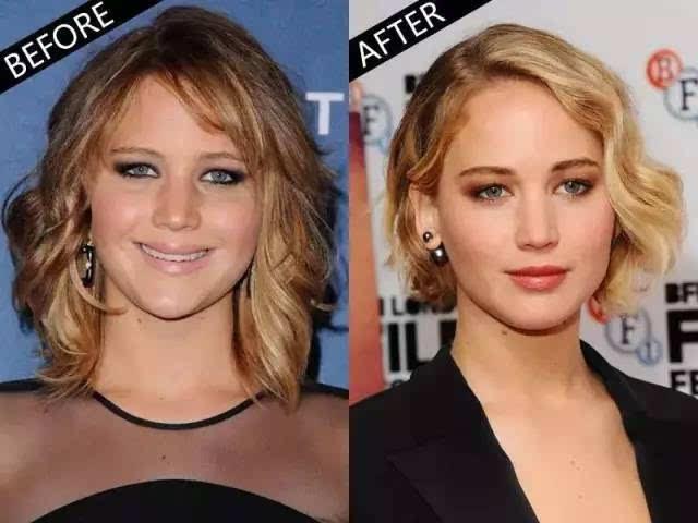 换发型=年轻10岁,不对称的造型更新颖,下颚处的卷曲也能完美修饰脸型.