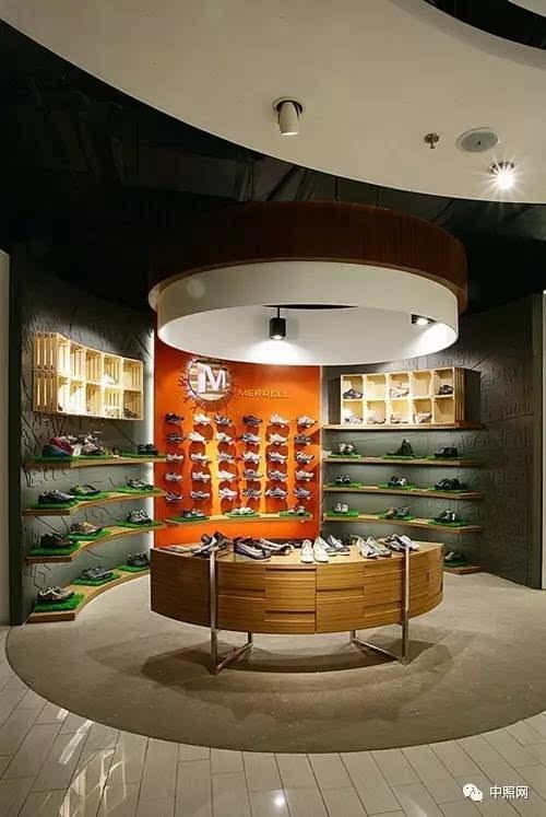 鞋店如何设计灯光?用五行演绎就行图片
