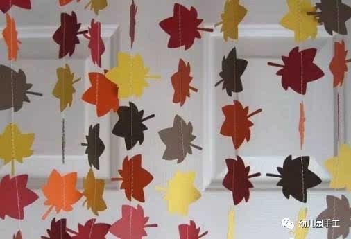 幼儿园秋季环创主题墙大集合!太美了!图片