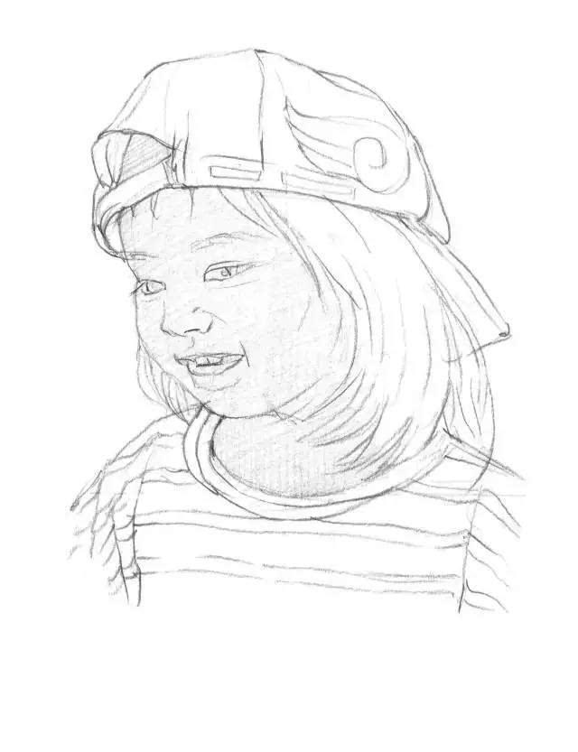 网格画手绘图片教程