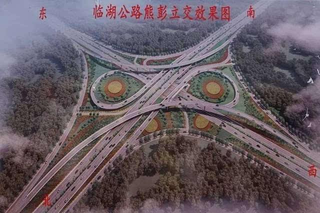新闻来源:岳阳日报,岳阳市政府网 岳阳的琵琶王立交桥,火车站立交桥