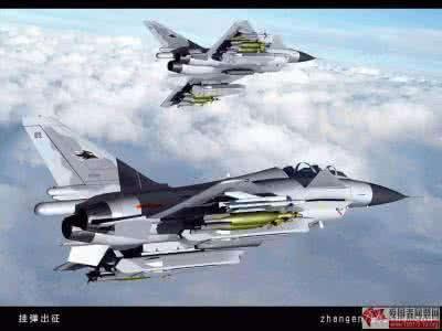 歼十使用大推力涡扇发动机和 鸭式气动布局,具有极为优越的机动性.图片
