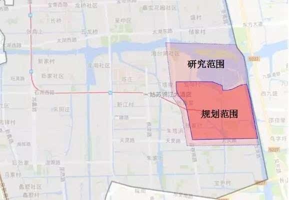 处于苏州市中心城区范围,具体为东至京杭大运河,西至迎春路,南至天灵