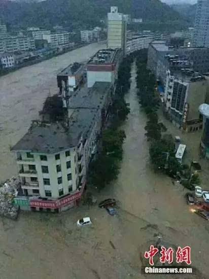 洪水致6人死亡 近几天,北方多地陆续遭遇较强降雨,陕西榆林市,山西图片