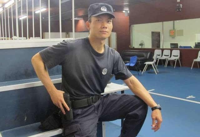 每日警星丨林伟文:特警队伍中的时代尖兵图片