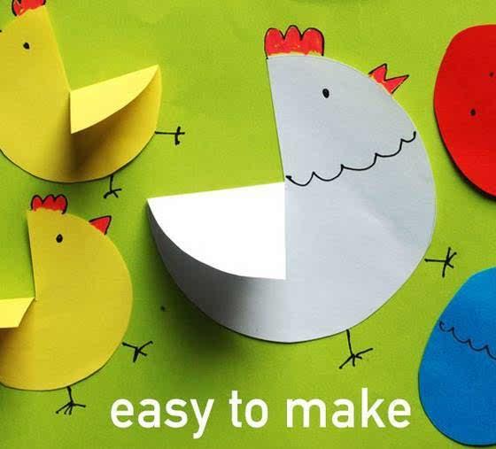 10款幼儿园创意手工制作,美爆了!幼师必学!