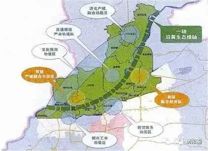 济阳先行区规划图