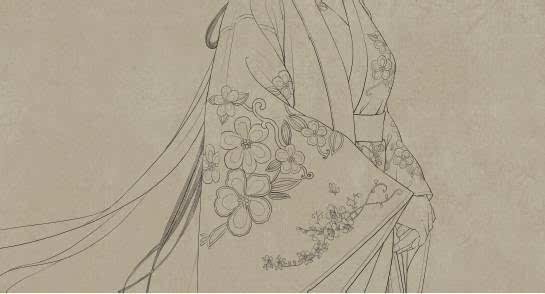 衣服花纹-你不知道的唯美古风CG插画绘制技法