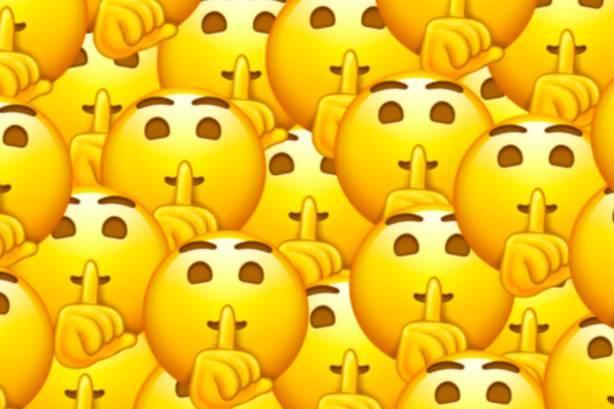 """emoji 又有新表情啦!挑眉,星星眼,禁言,还有""""大姨妈"""".图片"""