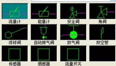 【论坛】33问cad技巧问题,67个电气图形及315个 阀门cad符号图画法图片