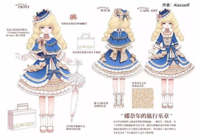 【投票】lolita画稿大赛总决赛!选出你心目中的冠军吧图片