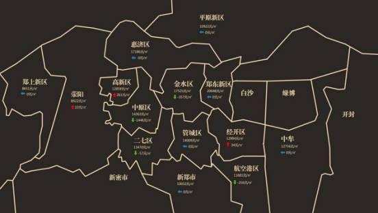 郑州8月最新房价地图出炉!限购,调控,全款买房,房价还能降多久?