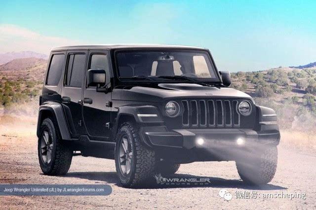 绝密 全新Jeep牧马人配置 参数曝光