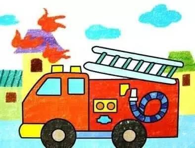 第二届全国儿童消防绘画作文大赛开始了!图片