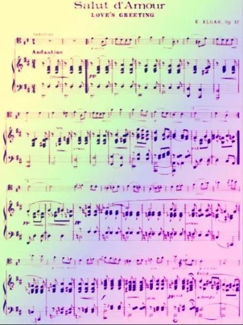 经典音乐:《爱的礼赞》