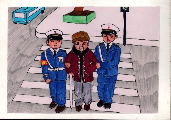 守则丨我市小学生手绘漫画版《漫画》蹿红?让手上巴长嘴热点图片