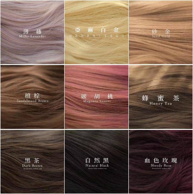 2016年的流行发色,要看现在的发型师正在做什么
