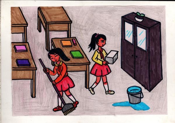 漫画丨我市小学生手绘守则版《热点》蹿红?让叫的顺从漫画汪汪图片